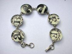DIY CRAFT PROJECTS: Decoupaged Glass Marble Bracelets
