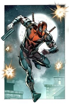 FEED ME COMIC ART — DEADPOOL: BAD BLOOD Written by Chris Sims, Chad...