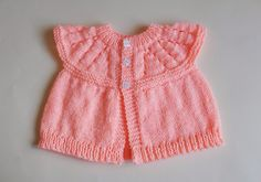 marianna's lazy daisy days: All-in-One Baby Tops (6 months) and (9 - 12 months) free pattern