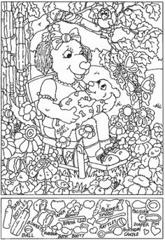 Personalized Colouring Pages, Coloring Books, Ivan Cruz, Hidden Pictures Printables, Hidden Images, Hidden Pics, Hidden Picture Puzzles, Simple Math, Easy Math