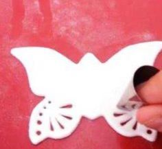 Easy Way to Make a Gumpaste/ Fondant Butterfly | Sam's Kitchen