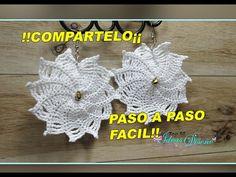 Cotton Crochet, Crochet Hats, Amigurumi Patterns, Crochet Patterns, Crochet Earrings Pattern, Crochet Instructions, Wire Weaving, Cotton Pads, Half Double Crochet