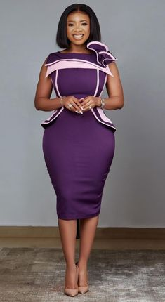 African Fashion Skirts, African Lace Dresses, Ghanaian Fashion, Office Outfits Women, 30 Outfits, Fashion Outfits, Work Outfits, Stylish Dresses, Sexy Dresses