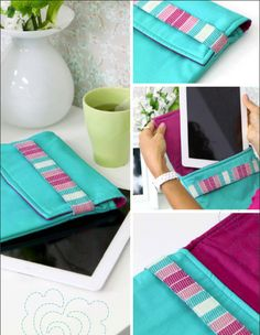 Tablet Coverlet ~ tutorial project from Patricia Bravo. Make this for the people on my Christmas list who have gadgets.