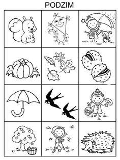 Indoor Activities For Kids, Autumn Activities, Fall Games, Autumn Crafts, Fall Projects, Autumn Theme, Coloring For Kids, Colouring Pages, Pre School