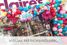 For the best brands in the world, Bubblegum Balloons have created magical VM displays to suit all brands, styles and products. Bubblegum Balloons, All Brands, Bubble Gum, Visual Merchandising, Display, Create, Blog, Floor Space, Billboard