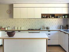Cantilever kitchen