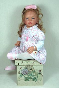 Isabella Toddler by Regina Swialkowski - Pre-Order - Online Store - City of Reborn Angels Supplier of Reborn Doll Kits and Supplies