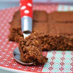 """Privé de dessert!!!: Gâteau de """"semoule"""" au son d'avoine & cacao"""