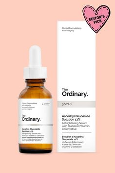 *** The Ordinary Ascorbyl Glucoside Solution 12%.