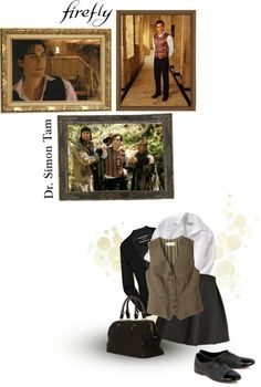 """Dr. Simon Tam"" by siriuslyoddsome on Polyvore"