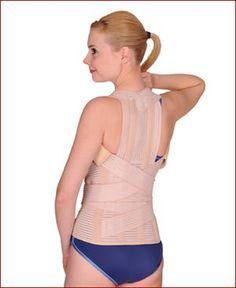 Korset Tulang Belakang Back Spinal Brace Elastic Dorsolomber Corset (TLSO) VARITEKS 130