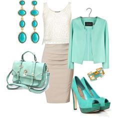Business Feminine, created by beachpeace on Polyvore