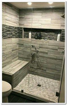 57 suprising small bathroom remodel and design ideas to inspiring you 10 Related. 57 Suprising Small Bathroom Remodel and Design Ideas to Inspiring Bathroom Design Small, Bathroom Interior Design, Modern Bathroom, New Bathroom Designs, Shared Bathroom, Master Bathroom Shower, Basement Bathroom, Handicap Bathroom, Relaxing Bathroom