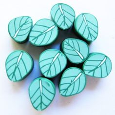Filani Millefiori - Leaves (Green) Douglas Jones, Mosaic, Mad, Leaves, Green, Products, Mosaics, Beauty Products, Mosaic Art