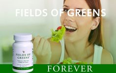 Forever fields of green.All the green food your body needs on a daily basis