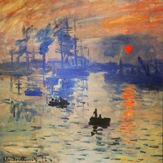 Monet- impression sunrise