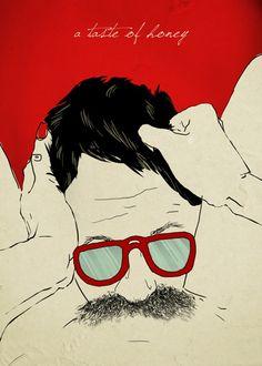 The Weird Love (El extraño amor) es una colección de carteles realizados por el diseñador gráfico italiano Francesco Tortorella.