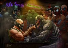 Marvel VS DC,Marvel,Вселенная Марвел,фэндомы,DC,Bane,Бэйн,DC Evil,Злодеи,DC Comics,DC Universe, Вселенная ДиСи,Venom,Веном,Deadpool,Дэдпул, Уэйд Уилсон,Wolverine,Росомаха, Логан, Джеймс Хоулетт,Batman,Бэтмен, Темный рыцарь, Брюс Уэйн,Nightwing,Найтвинг, Дик Грейсон,Bat Family,Бэт семья,Green