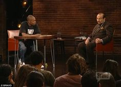 dave chappelle and james lipton - Google Search