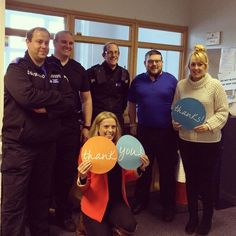 """A massive thank you to Stuart and the guys at #Roath Police Station @swpolice today for hosting our #fundraising """"Jail & Bail"""" event and being such great sports! Our inmates had a great experience and have so far raised over 3500 for cancer patients and their loved ones in Wales.  #teamtenovus #southwalespolice #roath #cardiff #events #cancercare #charity"""