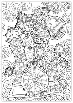 Momento d'allentamento e di rilassassione guarantito, con questi disegni da colorare Zen complessi per adulti. Ispirandosi della natura o totalmente surrealistici, questi disegni si distinguono dei mandalas perché non sono concentrati su uno stesso punto. Si tratta spesso di motivi ripetuti numerose volte, stilo di disegni da colorare riconosciuto per le sue virtù tranquilizzanti. Cercate l'armonia globale dei vostri disegni da colorare invece di concentrarvi su ciascun elemento indiv...