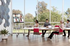 Our staff of professional workspace planners have the imagination to envision your perfect work environment and the experience to get it done right. Tv Cart, Office Plan, Plan Design, Workplace, Planners, Imagination, Environment, Dining Table, How To Plan