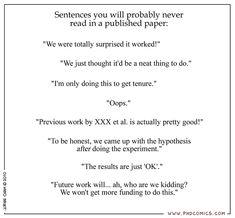 PHD Comics: Sentences