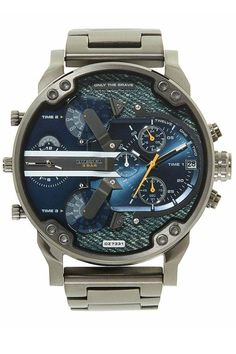 Diesel Watches For Men. Watch Gift Ideas For Him/BoyFriend/Husband/Father/Brother/Son. Diesel Watches For Men, Luxury Watches For Men, Daddy, Casio Watch, Gifts For Him, Chronograph, Stainless Steel, Men Watch, Ebay