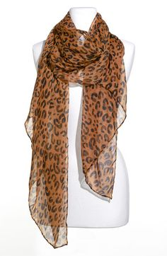 For my lovely sister who loves leopard!  Scarves are always such a great gift because you can never have too many! .. and this one is only $18.00