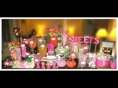 The Ultimate Candy Buffet! - YouTube