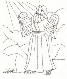43 moses and the 10 commandments