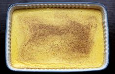 Cooked egg custard - I grew up eating egg custard frequently, because my mom loved it. I'm hoping to continue that legacy.