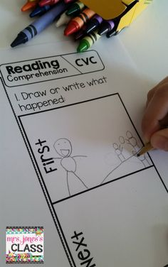 Reading Comprehension for emergent readers!  Story sequencing, fluency, and comprehension questions. This is great for my center time. $