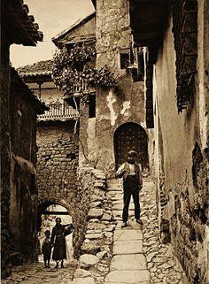 Kurt Hielscher: Albarracín, Spain, 1925