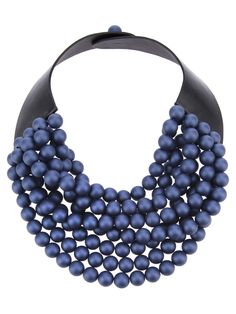 ROSSANA FANI  'Isabella' beaded collar necklace