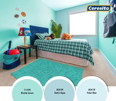 #CeresitaCL #PinturasCeresita #color #decoración #habitación #niños