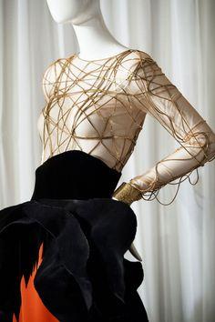 Défile Stéphane Rolland Haute couture Automne-hiver 2014-2015 - Détail 18