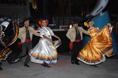 Mexican folkloric dancers performing at the Circuitio Cultural Marina Cabo San Lucas.