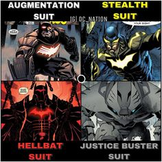 "20.5k Likes, 243 Comments - DC NATION™ (@dc_nation_universe) on Instagram: ""Batman armors throughout the comics!  Which one is your favorite? Ps : there's a part two. #dc…"" Marvel Facts, Marvel Vs, Marvel Dc Comics, Batman Armor, Im Batman, Batman Beyond Terry, Batman Sidekicks, Bat Costume, Image Comics"