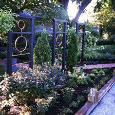 Custom Trellis built by Greenlife Gardens