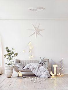 photo by Sara Svenningrud for KK Living white christmas ideas