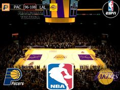 NBA 2016/17: Indiana Pacers 96-108 Los Angeles Lakers