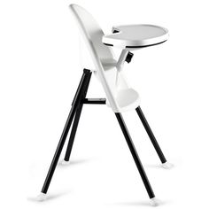 BabyBjorn Highchair-White The perfect choice for your baby?s first high chair. This ergonomic high chair helps your child to sit comfortably in an upright position during mealtimes. The High Chair has a unique safety solution  http://www.MightGet.com/march-2017-1/babybjorn-highchair-white.asp