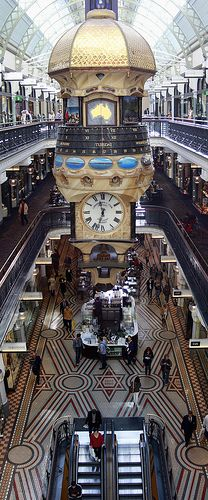 Queen Victoria Building, Shopping Mall - Sydney, Australia. my favorite shopping mall!
