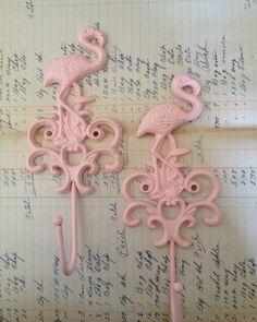 Flamingo Hooks by myra