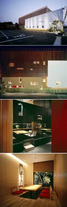 Narihana restaurant design by Amano Design Office in Japan