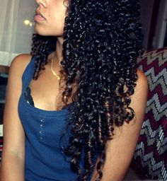 Hair inspiration: I can't wait till I acquire this length!