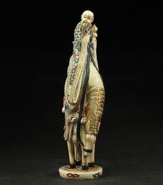 Sammeln Schöne Unsterbliches Pferd Skulpturen,Harz,China selten in Antiquitäten & Kunst, Internationale Antiq. & Kunst, Asiatika: China | eBay