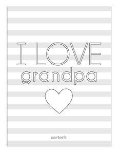 I love you Grandpa on the occasion